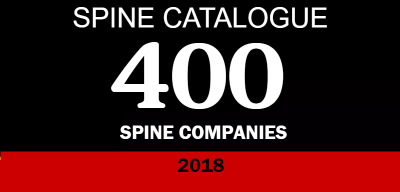 SPINE Catalogue 2018 IS HERE! More than 400 Companies Listed